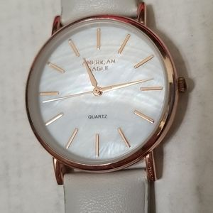 American eagle rosegold wrist watch